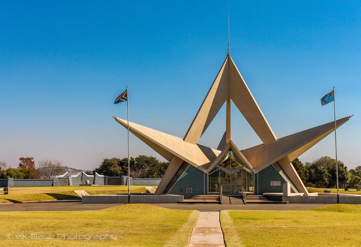 Air Force Memorial - The South African Air Force Memorial is a memorial to South African Air Force (SAAF) members who have died whilst in service of the South African Air Corps and its successor, the South African Air Force from 1915 to the present during times of war and times of peace. The memorial is located on Bays Hill in Swartkop outside Pretoria and overlooks Air Force Base Swartkop, the first air force base of the SAAF. An annual memorial service is traditionally held here in May.