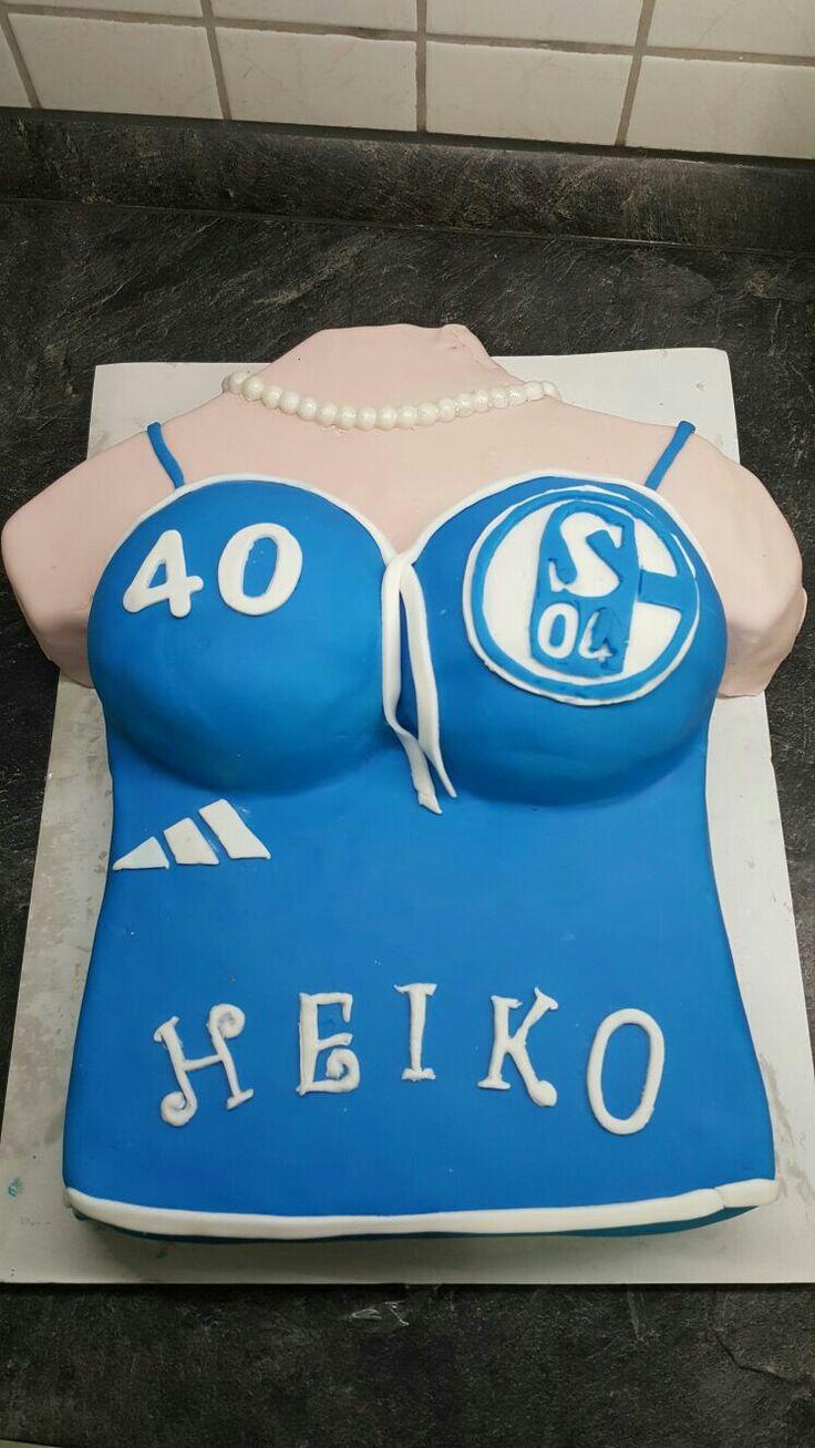 Schalke Trikot Torte