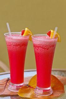 Recette de boisson rafraichissante à la pastèque et au citron vert