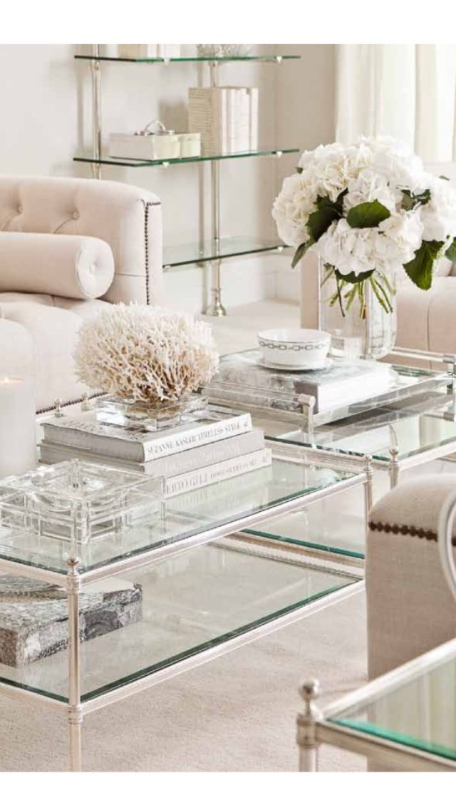 Best 25 glass coffee tables ideas on pinterest coffee - Coffee table ideas for living room ...