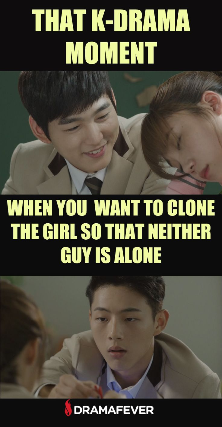 RIGHT! Like sometimes the second male lead is so cute and sweet that I want him to be happy too :(