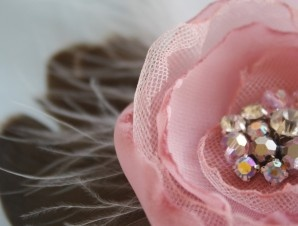 How to Make a Fabric Flower Fascinator Comb | Flower Making Tutorials