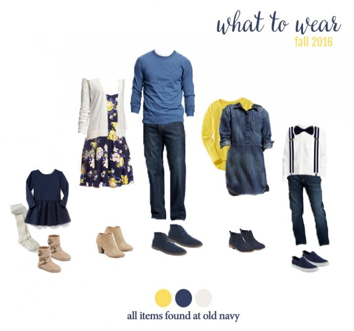 What to wear for fall family photos! Adorable outfits for the entire family…