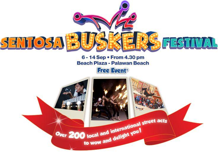 Sentosa Buskers Festival 2014