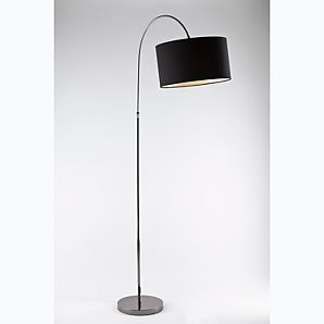 Asda arc floor lamp black in search of a black floor for Floor lamp asda