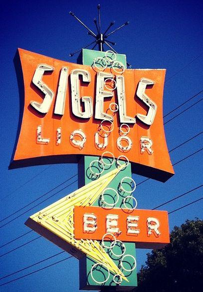 Sigel's liquor store in Dallas (Addison), Texas.