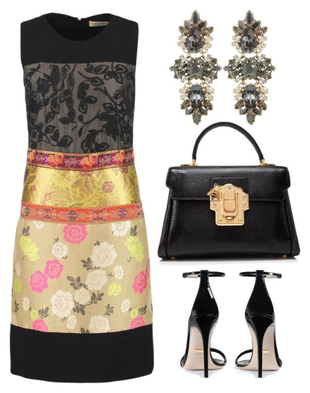 """Untitled #696"" by mchlap on Polyvore featuring Etro, Dolce&Gabbana, Anton Heunis and Gucci"