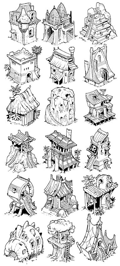 the etherington brothers map elements chart cartography icons create your own roleplaying game material w - Game Design Ideas