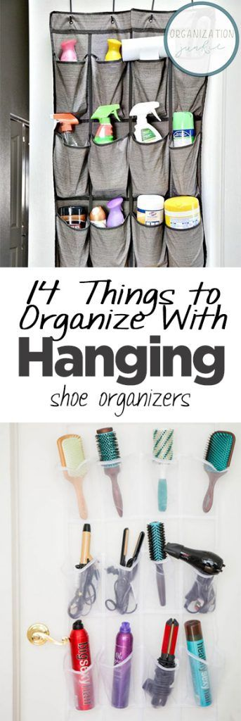 14 Things to Organize With Hanging Shoe Organizers