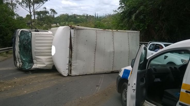 Also on Saturday, a man was injured after a heavy goods vehicle overturned on P200 near Port Shepstone.6 Dec 2014