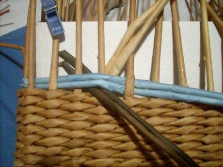 Moje pletení z papíru - Fotoalbum - NÁVOD - VZORY PLETENÍ - NÁVOD - na vzor copánek