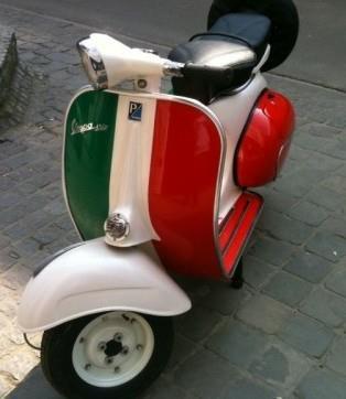 Italian Vespa...quite obvious :)))