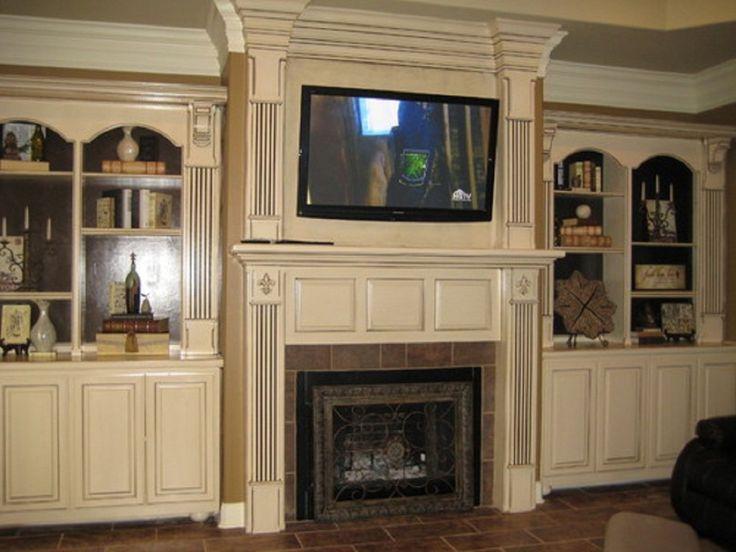 tv over fireplace ideas | ... Tagged: Custom TV Stands , Fireplace TV Stands , TV Stands Design