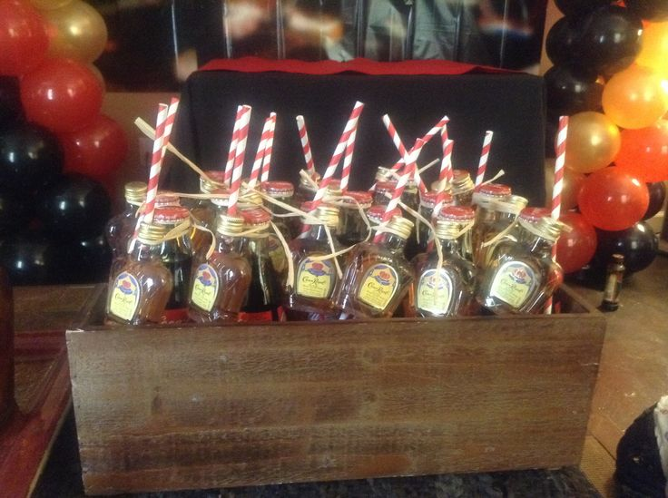 Crown And Coke Party Favors For My Husbands 40th Birthday