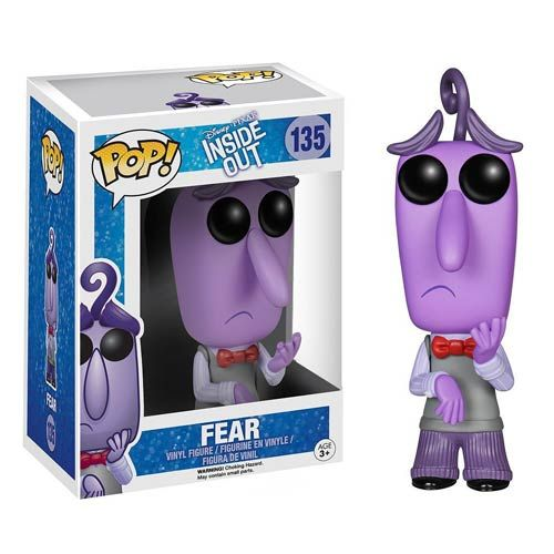 We all get afraid sometimes, and this Inside Out Fear Disney Pixar Pop! Vinyl Figure shows how we feel when that emotion occurs.