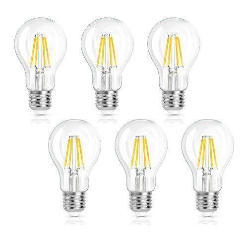 Oferta: 15.99€ Dto: -77%. Comprar Ofertas de SHINE HAI Bombillas Filamento LED E27, Incandescente Equivalente Bulbos a 40w, Blanco Cálido 2700k 4W, ,4w A60 470LM, AC 200- barato. ¡Mira las ofertas!