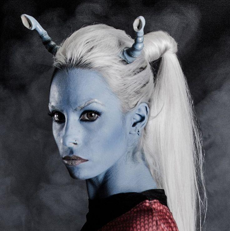 Andorian star Trek cosplay by MissHatred by JessicaMissHatred.deviantart.com on @DeviantArt