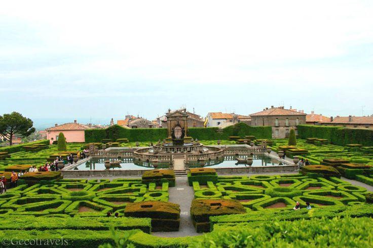 Villa Lante, a beautiful garden in Viterbo