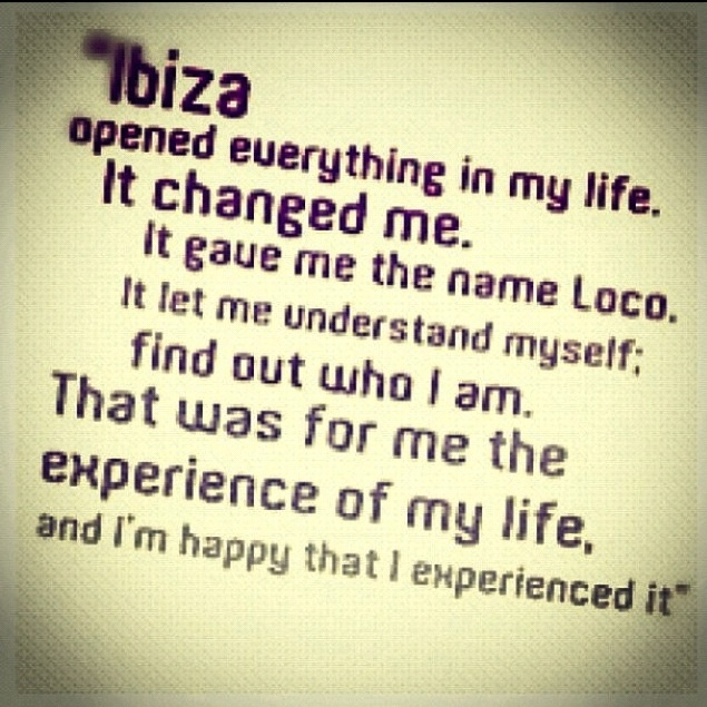 Ibiza .... LocoDice