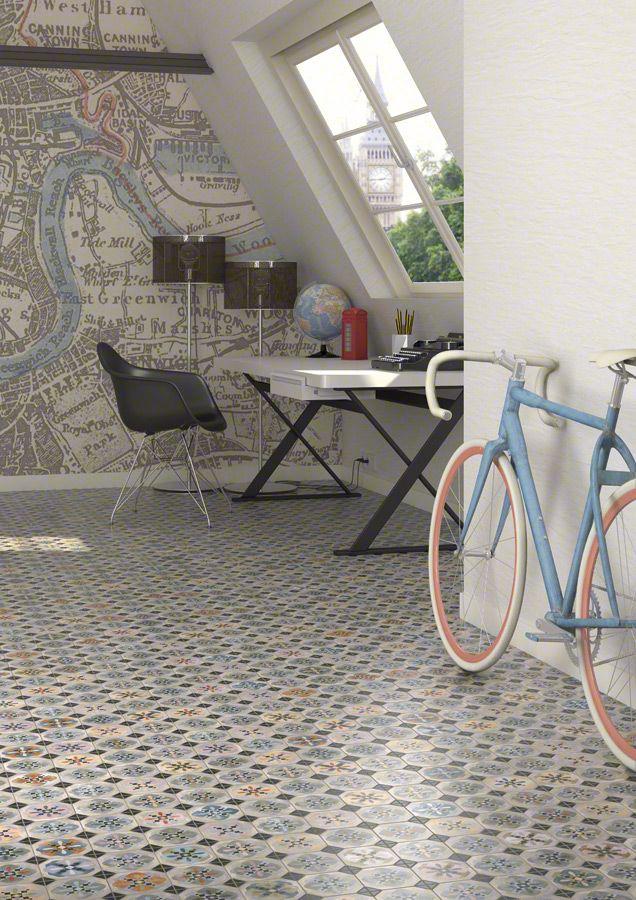 PAVIMENTO GRES PASTA ROJA: WORLD PARKS | VIVES Azulejos y Gres S.A. #Bike #Interiors