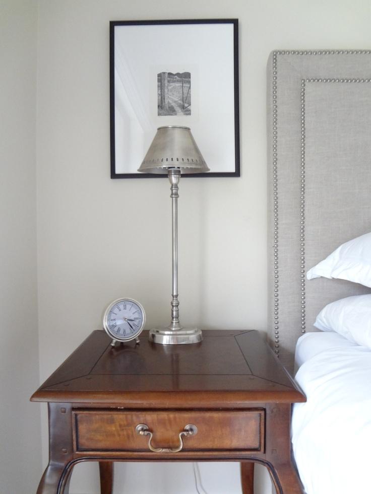 Bedside table (left)