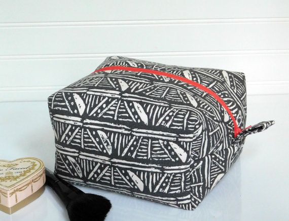 Large Makeup Bag Pouch Large Cosmetic Bag by BerkshireCollections