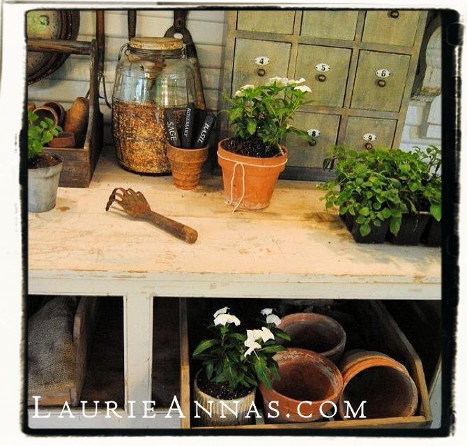 Who else has plans to play in the dirt this weekend? #spring #farmhouse #laurieannas