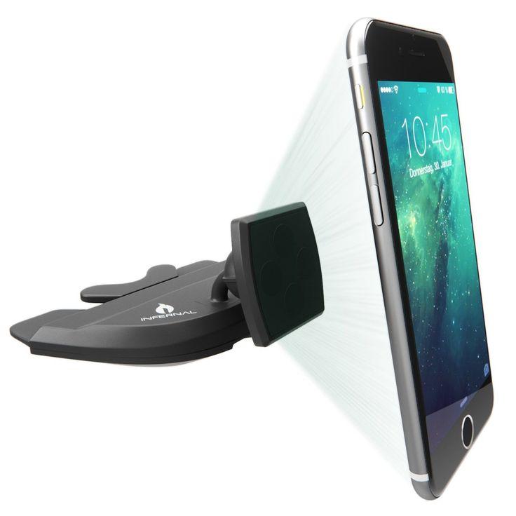 #1 Magnetic Phone Mount CD Slot | iPhone 6 & 6S CD Slot Car Mount | Universal Car Cell Phone Holder