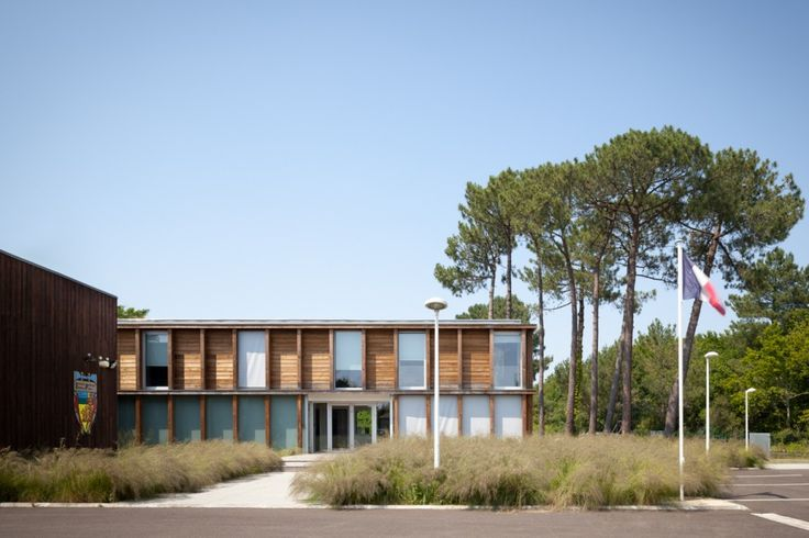 Biscarrosse Fire and Rescue Station / Debarre Duplantiers Associés Architecture & Paysage