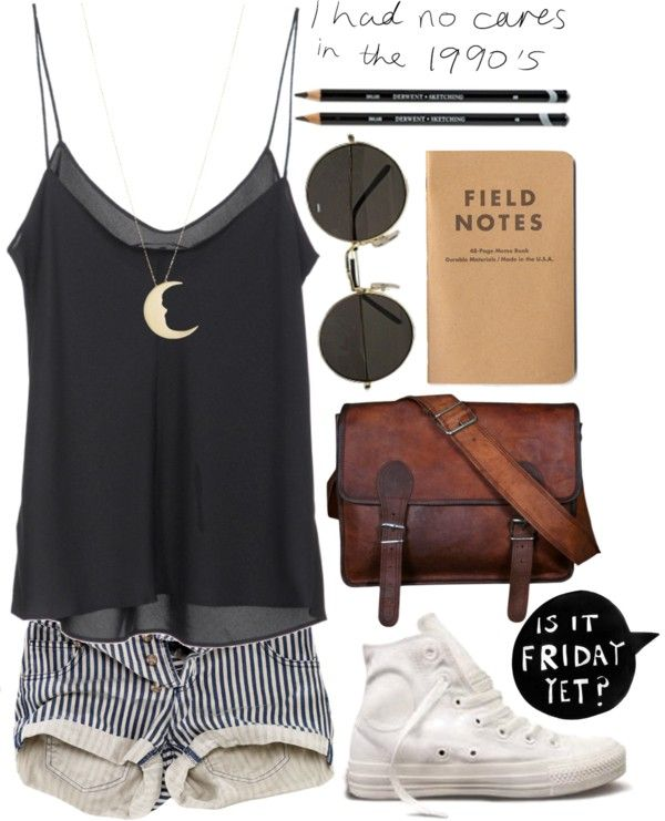 """Always Running"" by vv0lf ❤ liked on Polyvore. I actually for reals have a field notebook. I feel so cool right now.:"