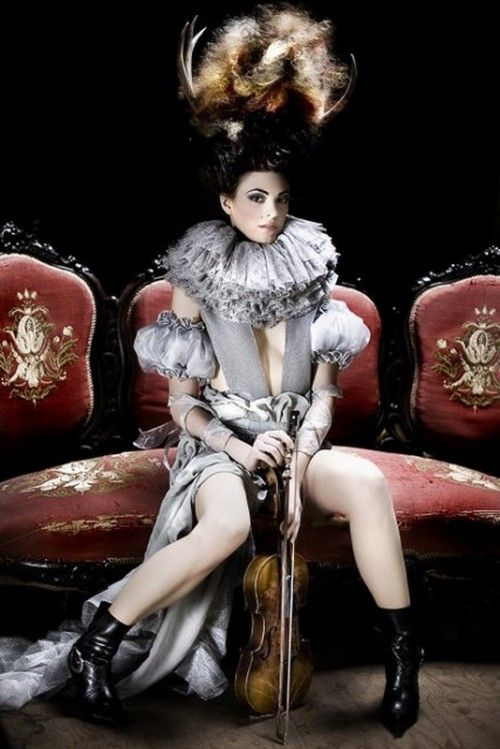 Best of Haute Macabre - Antlers AND a ruff! Love!