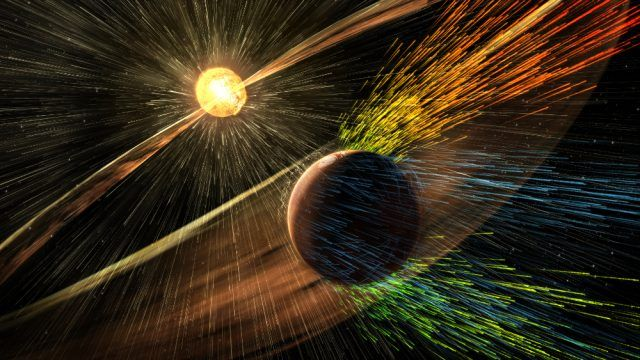 (adsbygoogle = window.adsbygoogle || []).push();   La velocidad del viento solar que está soplando en estos momentos sobre nuestro planeta es de 650-700 kilómetros por segundo, casi el doble de la media. Este jueves, la Tierraestá bajo influencia deuna tormenta magnética de nivel...