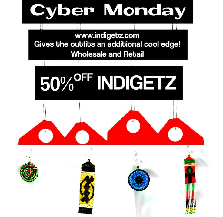 Shopping for fewer accessories? Relax our #CyberMonday #INDIGETZ #highfashionedjewelries is back!