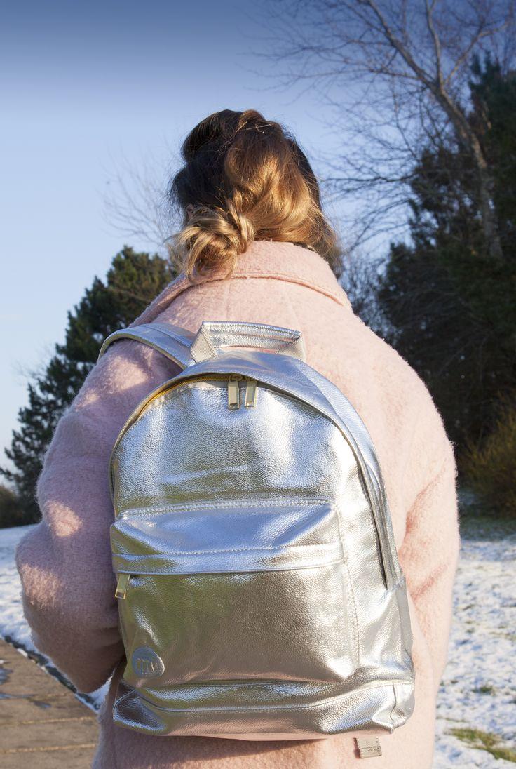 Mi Pac Silver Metallic Bag