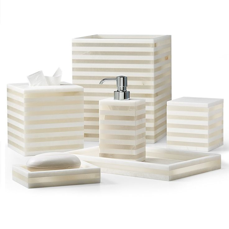 Hotel Collection Alabaster: 29 Best Bath Accessories Images On Pinterest
