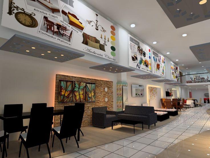 Show Room #iluminacion Exhibicion comercial #retail