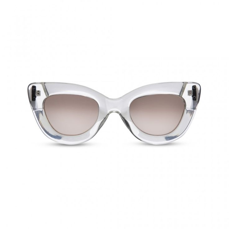 Violent Femme Clear w. Ice Peach Reflector Lens