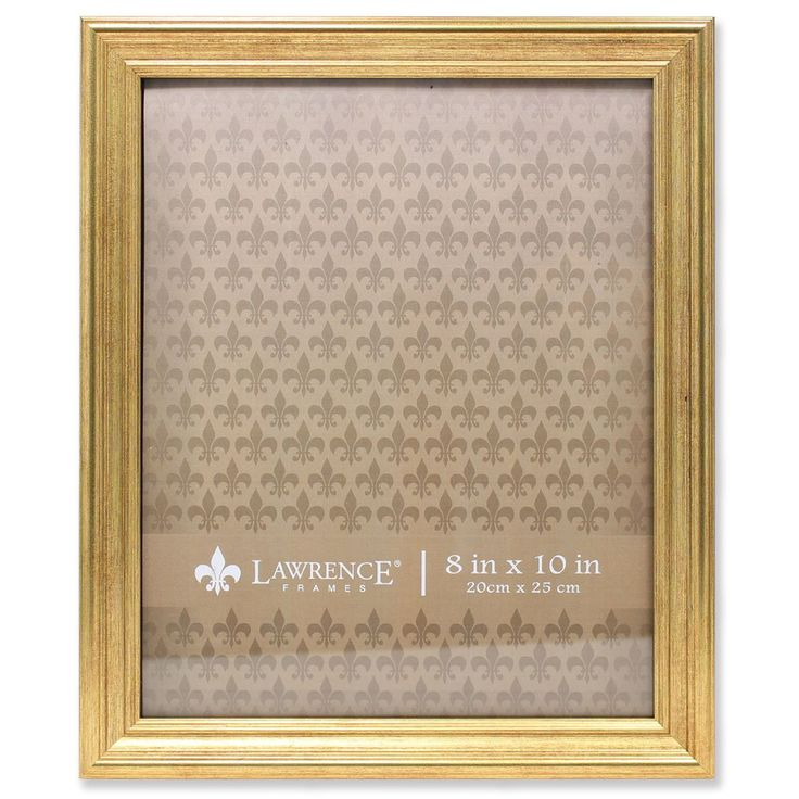Amazon.com - Lawrence Frames Sutter Burnished Picture Frame, 8 by 10-Inch, Gold -