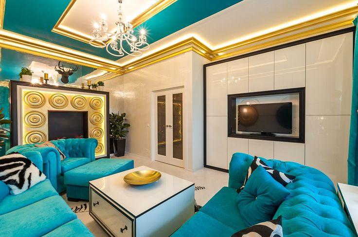 Гостиная корпусная и столик Алвик 2-2 индивидуальный дизайн проект Деметра Вудмарк