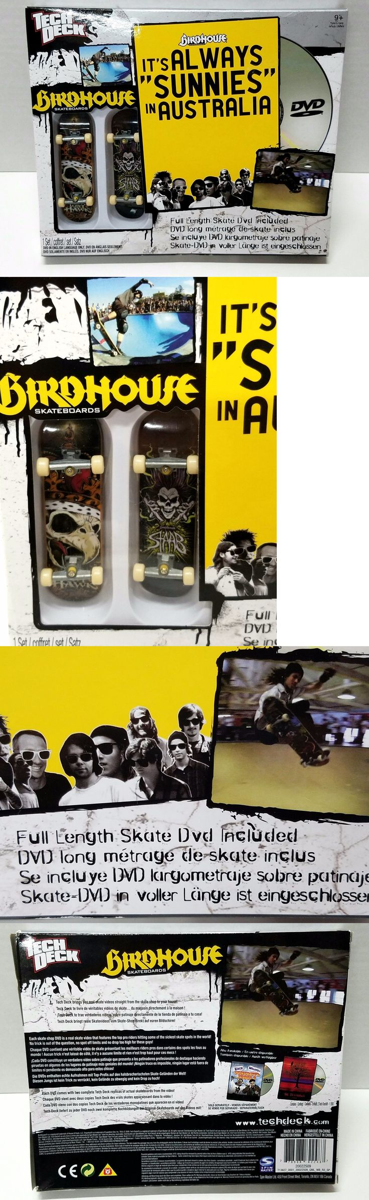 Books and Video 58128: Tech Deck It S Always Sunnies In Australia Birdhouse Skateboards + Dvd Movie New -> BUY IT NOW ONLY: $31.95 on eBay!