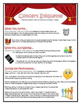 Student behavior is often a reflection of what they have been taught (or not!). This quick, one-page info sheet will help your students understand ...