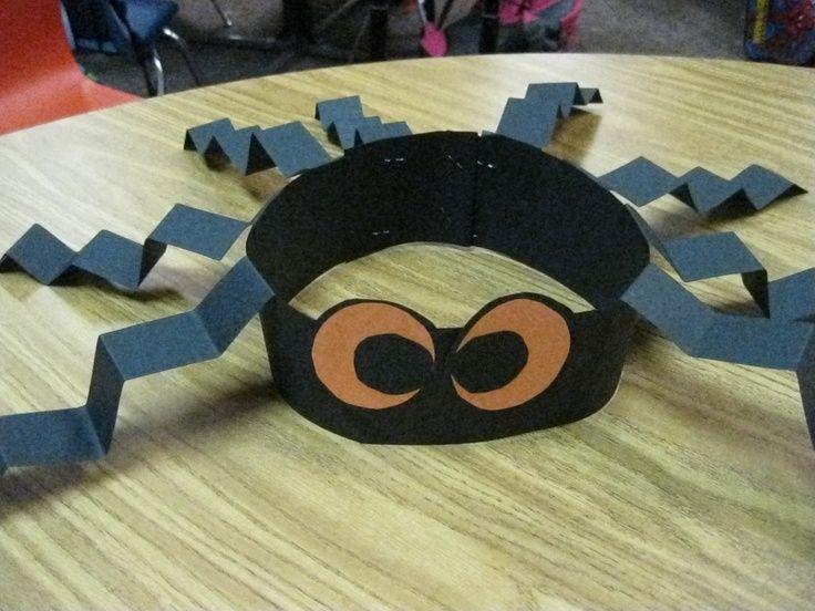 Spider Hat Craft | Crafts | Pinterest