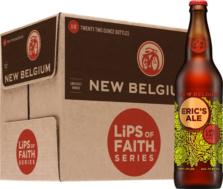 Eric's Ale Beer. Next on my list of beers to try. I love the Lips of Faith series from New Belgium!