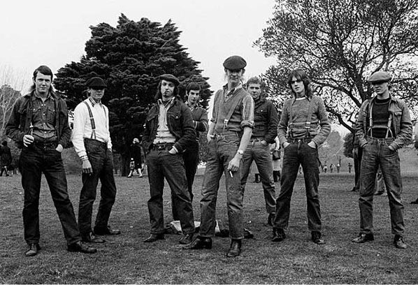Sharpies, Melbourne 1973   Rennie Ellis Photographic Archive