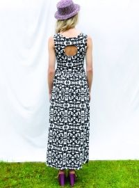 R/H SS13 Collection - Long Dress in Mosaik