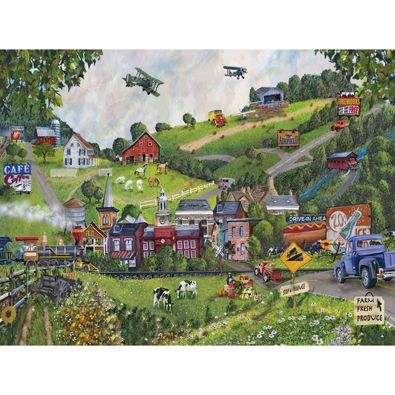 Best Large Format Jigsaw Puzzles Senior Citizens Activities - Large wood us map puzzle