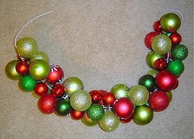 A wreath out of a hanger? ... must try!