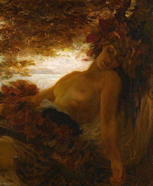 Herbert James Draper (1863 - 1920) - Autumn