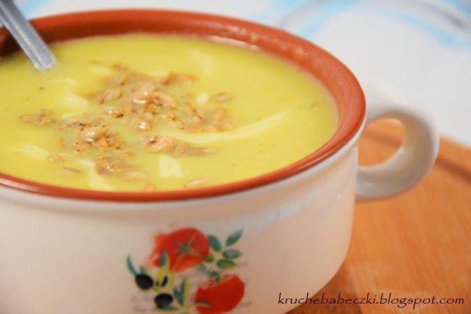 kruche babeczki: Zupa - krem z pora