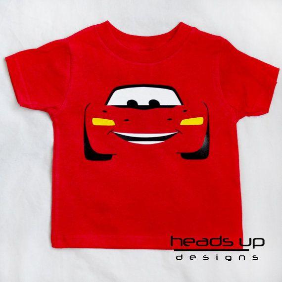 Lightning Mcqueen Cars Shirt Toddler Toddler Boy by HeadsUpandUp